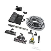 GV Central Vacuum Hose Kit fits ALL systems Turbo Head Tools