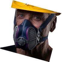 GVS SPR456 Elipse P100 Nuisance Odor Respirator, Medium/