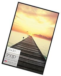 Gallery Solutions Black U-Channel Poster Frame, 20 by 30-