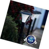 GardenBliss Best Solar Lights For Outdoor Pathway, 10