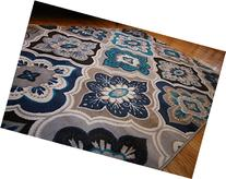 Generations Panal and Diamonds Area Rug, 5'2 by 7'3 - Inch,