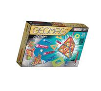 Geomag 68-Piece Glitter Construction Set with Assorted