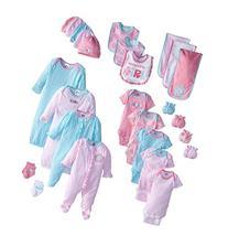 Gerber Baby-Girls Newborn Zebra 26 Piece Gift Bundle Gift