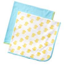 Gerber Unisex-Baby Newborn 2 Pack Neutral Thermal Blanket,