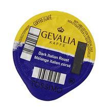 Tassimo GEVALIA Dark Italian Roast Coffee, 12 Count T-Discs