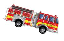 Giant Fire Truck 24-Piece Floor Puzzle