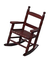 Gift Mark Child's Double Slat Back Rocking Chair, Pink