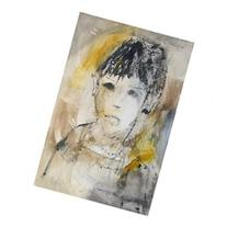 Gino Hollander, Portrait of a Boy, Oil Painting Painting