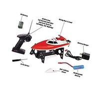 Ginzick 4ch Rc Remote Control Speed Zoom Race Boat Set