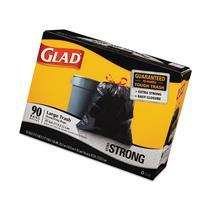 COX70313 - Glad Drawstring Outdoor Trash Bags