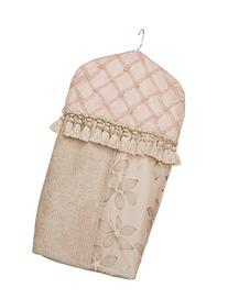 Glenna Jean Florence Diaper Stacker, Pink/Cream/Tan