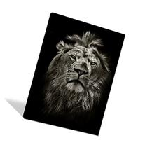 Global Artwork Printed Posters and Prints Black White Animal
