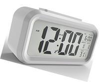 Gloue Digital Alarm Clock Battery Operated- Desk Clock-