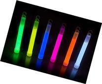 "Glow Sticks Bulk 25 Count - Box of 6"" Premium Glow In The"