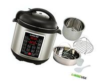 GoWISE USA GW22620 4th-Generation Electric Pressure Cooker