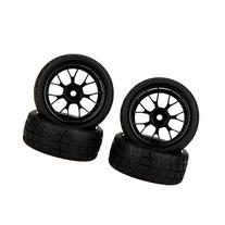 GoolRC 4Pcs High Performance 1/10 Rally Car Wheel Rim and