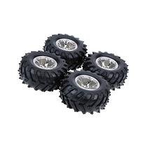 GoolRC 4Pcs/Set 1/10 Monster Truck Tire Tyres for Traxxas