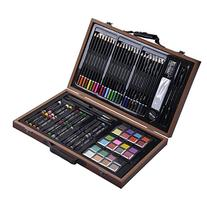 Goplus 80-piece Deluxe Art Set Drawing and Painting w/Wooden