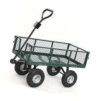 Gotobuy Wagon Cart 800 LB Capacity Utility Heavy Duty Yard