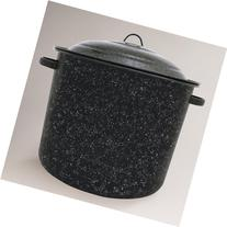 Granite Ware 6139-1, 34-Quart Stock Pot, Black