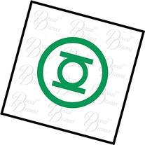 Green Lantern, Hal Jordan, emblem Vinyl Car Decal, DC Comics