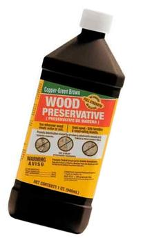 Green Products 33004 Copper Brown Wood Preservative for