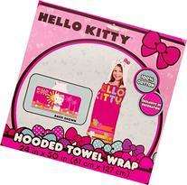 HELLO KITTY HOODED TOWEL WRAP