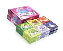 HEM Assorted Incense Cones - 12 Packs of 10 Cones Each -