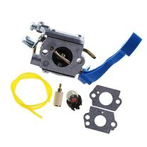 HIPA C1Q-W37 Carburetor with Fuel Line Hose Filter for