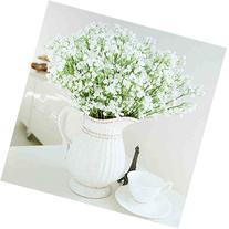 HLM Artificial Flower-White Baby's Breath Gypsophila for
