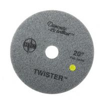 HTC 20 Inch Twister, Yellow 2/case Net