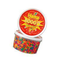 Hama Beads - Neon Mix 3000 Tub