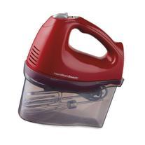Hamilton Beach 6-Speed Hand Mixer with Snap-On Storage Case, Red | 62687