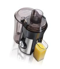 Hamilton Beach Juice Extractor, Big Mouth, Metallic