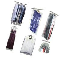 Hangerworld Pack of 20 Clear Polythene Long Gown Dress