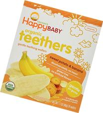 Happy Baby Gentle Teethers Organic Teething Wafers, Banana