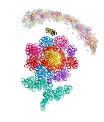 Happy Loom Bands Refill Kit~5400 Rainbow Colored & BONUS