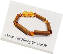 Hazelwood Baltic Amber Bracelet 5.5 - 6 Inches Brown Honey
