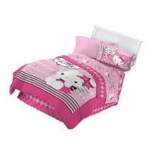 Hello Kitty Sweet and Sassy Full Comforter Set