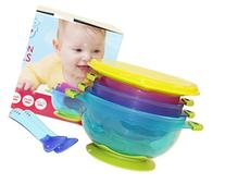 Highest Quality Spill Proof and Stay Put Suction Baby Bowl