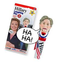 Hillary Clinton Laughing Pen - Mouth Moves - Hillary's REAL