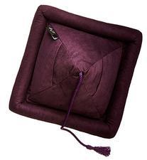 Hog Wild Peeramid Reading Pillow, Eggplant