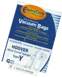 Hoover WindTunnel Upright Type Y Vacuum Bags Microfiltration