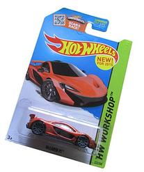 Hot Wheels, 2015 HW Workshop, McLaren P1  223/250