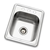 Houzer 1722-7BS-1 Hospitality Series Topmount Stainless