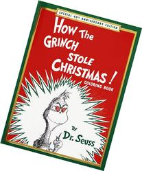 How the Grinch Stole Christmas! Coloring Book: Special 40th
