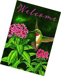 """Hummingbird Welcome"" - Spring / Summer - Garden Size, 12"