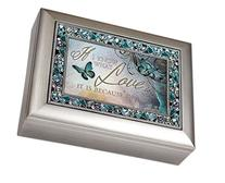 I Know What Love is Because of You Decorative Jewel Musical