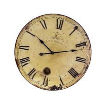 """IMAX Home 2511 23"""" Large Wall Clock with Pendulum, N/A"""