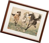 INK WASH Giclee Prints Xu Beihong Chinese Horse Painting 3